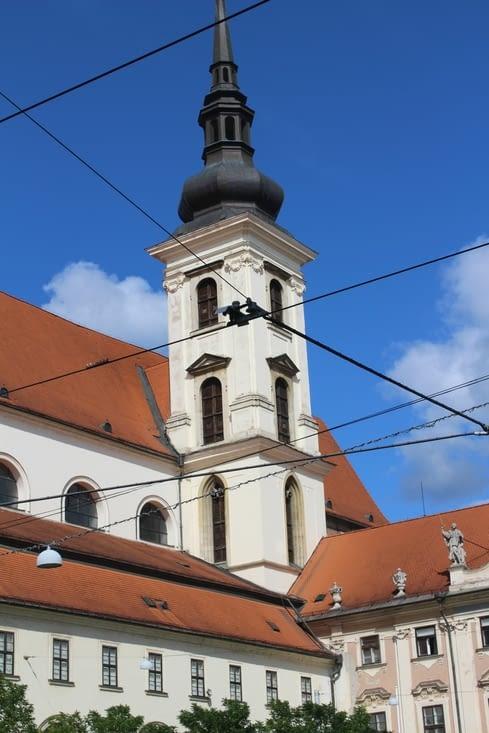 Tour de l'église Saint Thomas