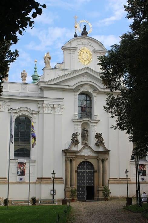 Ainsi que l'église de l'Assomption du Monastère de Strahov