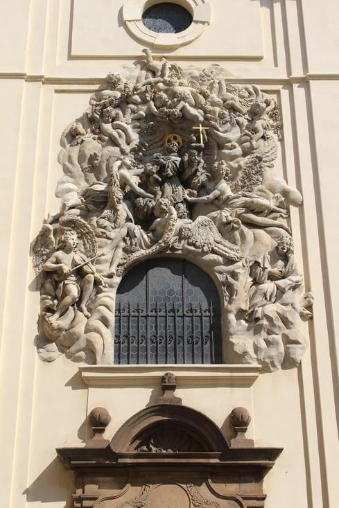 Détail architectural d'une église