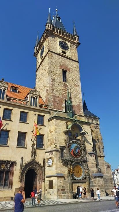 La célèbre Horloge Astronomique de Prague