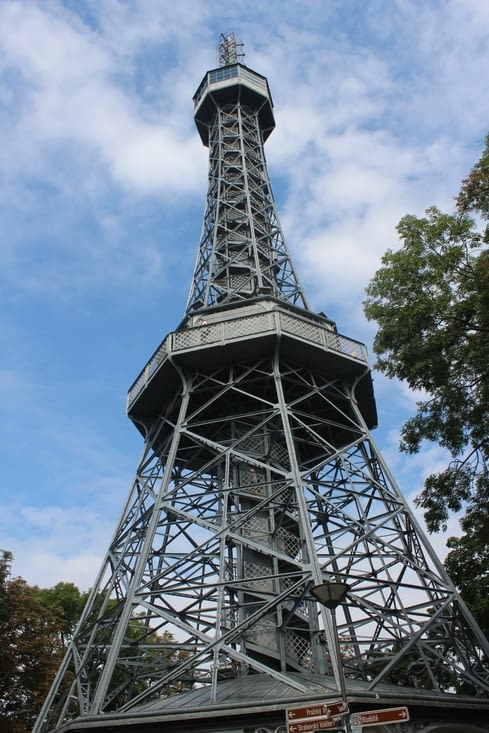 La tour d'observation de Petrin