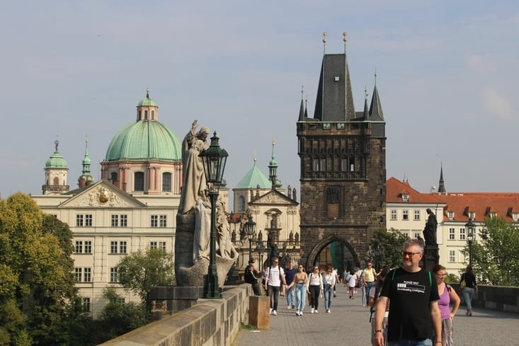 La vieille ville vue du pont