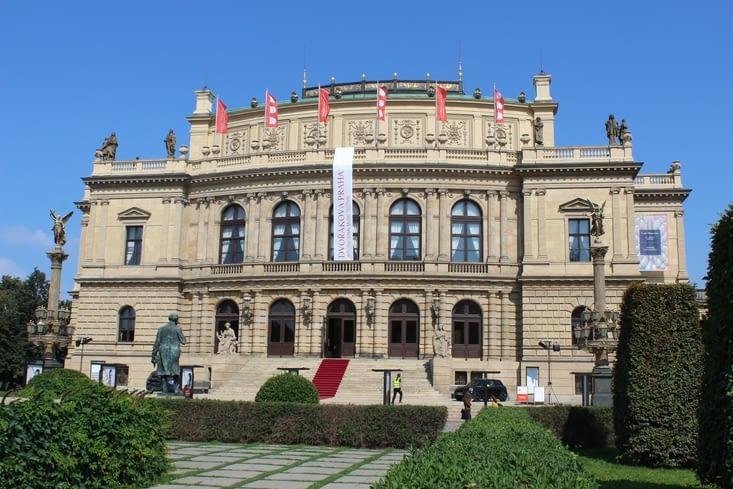 Le Rudolfinum, une salle de concert