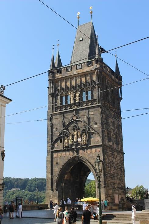 L'entrée du Pont Charles IV