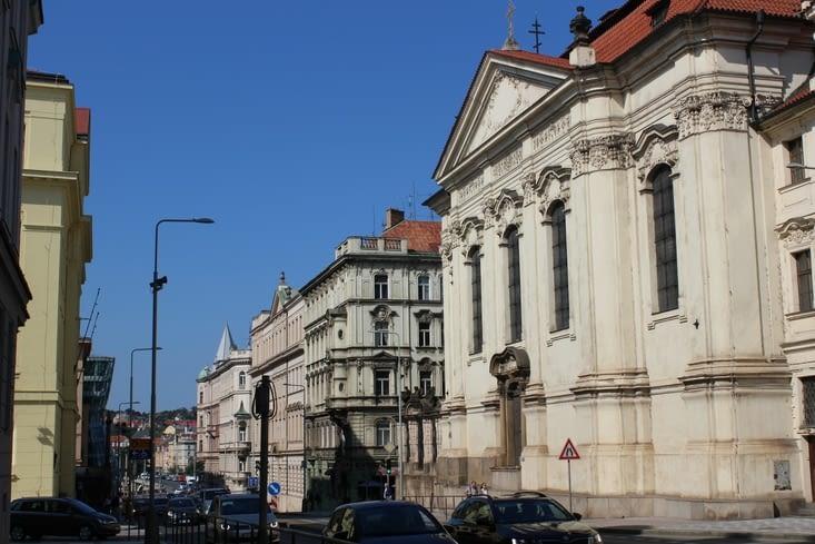 Premiers pas dans Prague