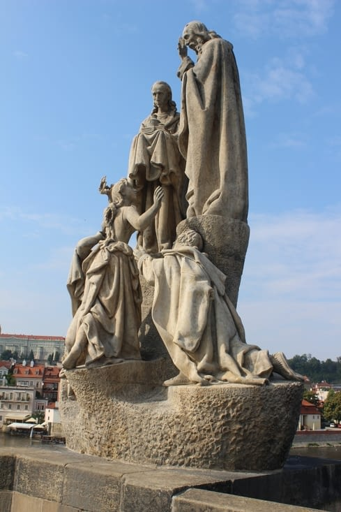 Statue du pont Charles IV