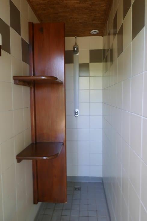 Les douches....