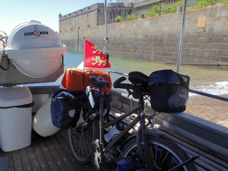 La traversée de Saint Malo à Dinard