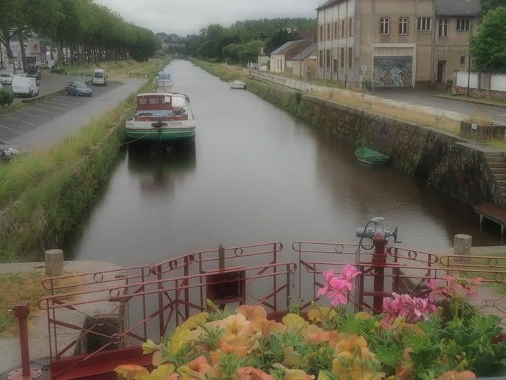 Redon, carrefour des canaux de Bretagne.