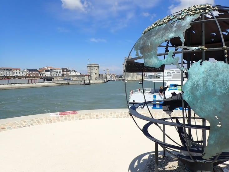 À l'avant port de La Rochelle