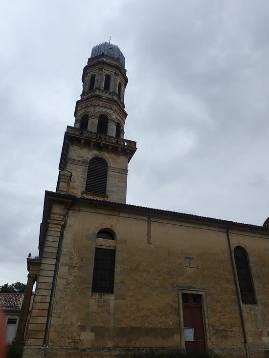 Le clocher panoramique de Lamarque.