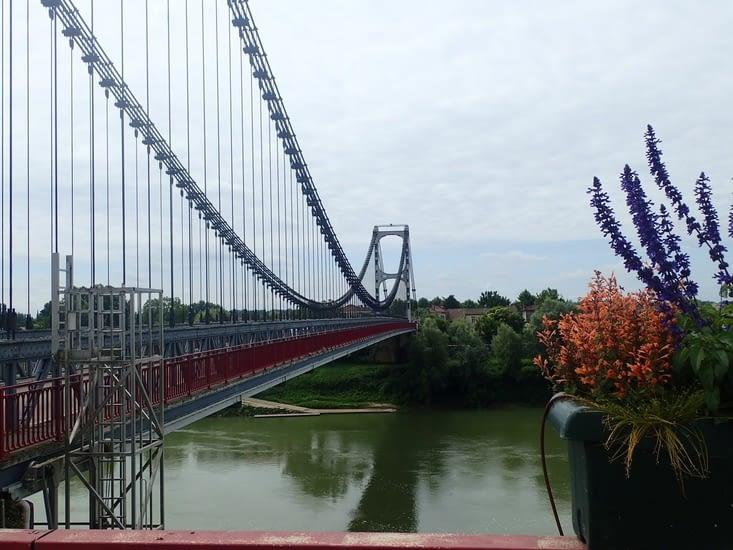 Le pont du Rouergue à La Réole.