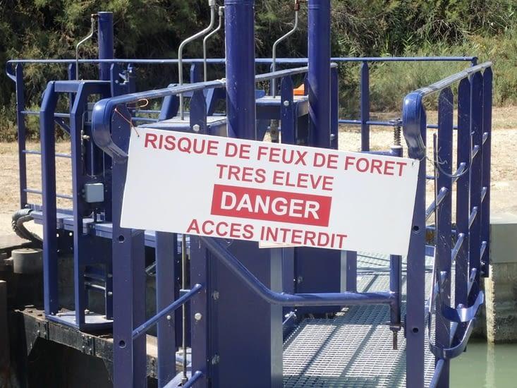 L'accès à l'île Sainte Lucie est interdit au public.