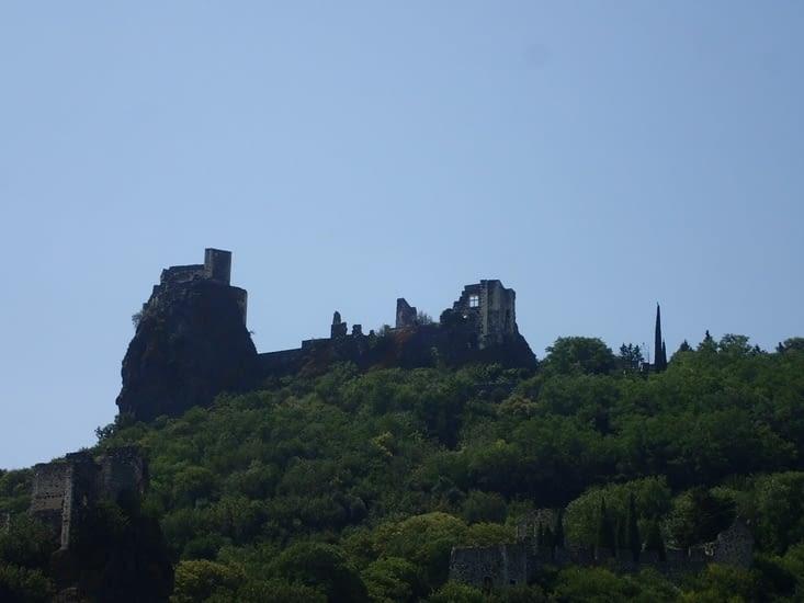 Le château de Rochemaure.