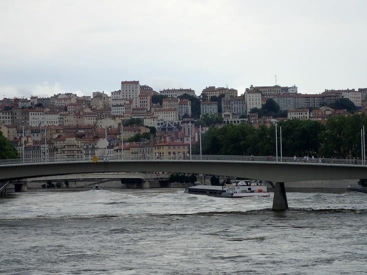 La Saône.