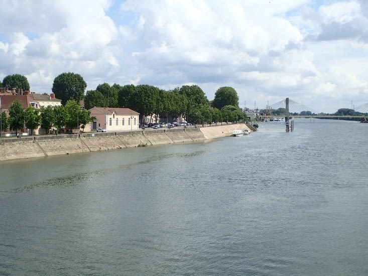 La Saône à Mâcon