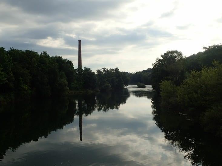 La cheminée grande de la forge de Seurre.