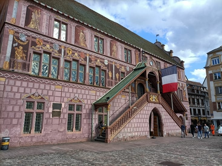La mairie de Mulhouse.
