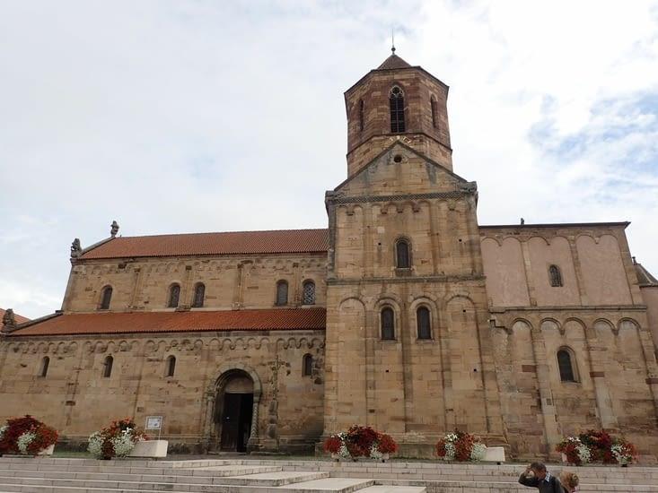 L'église de Rosheim.
