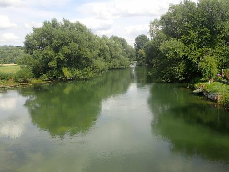La Meuse quelques kilomètres avant Verdun.