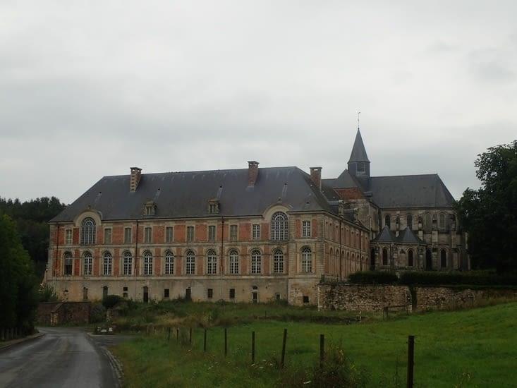 L'abbaye de Saint Michel.