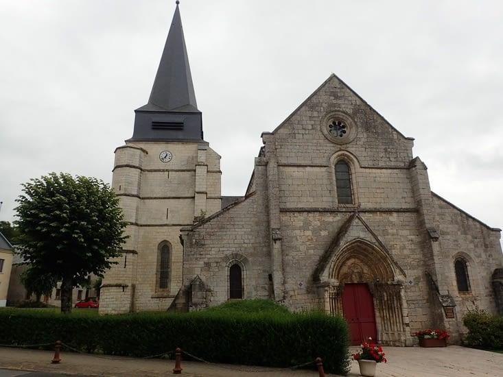 L'église d'Aubenton.