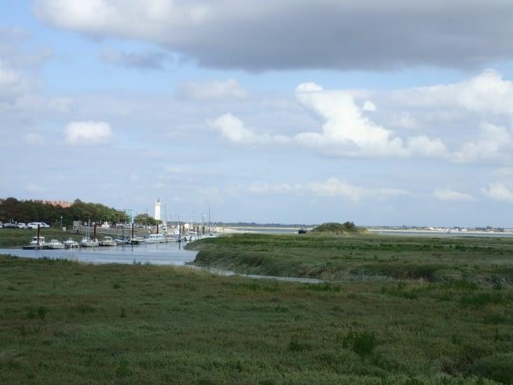 Le phare de la Pointe du Hourdel.