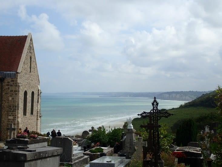 .Le cimetière marin de Varangéville-sur-Mer.