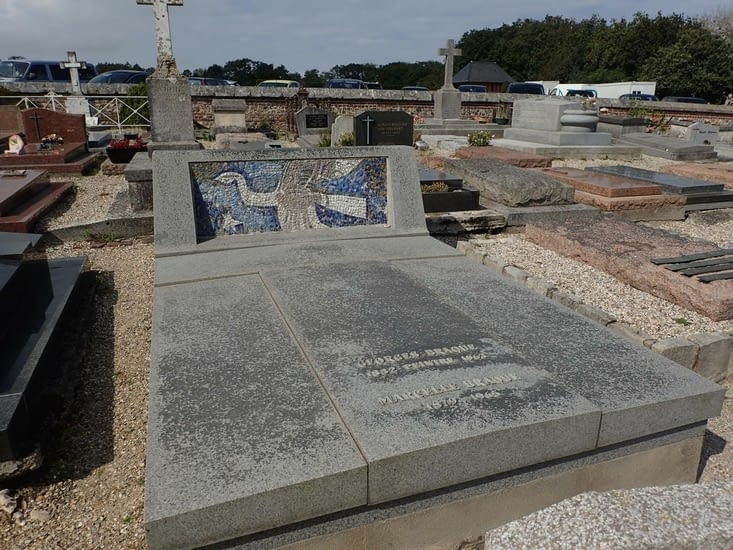La tombe du peintre Georges Braque.