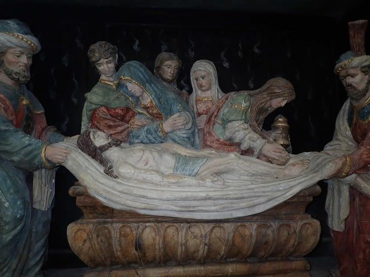 Mise au tombeau. Eglise de Veules-les-Roses.