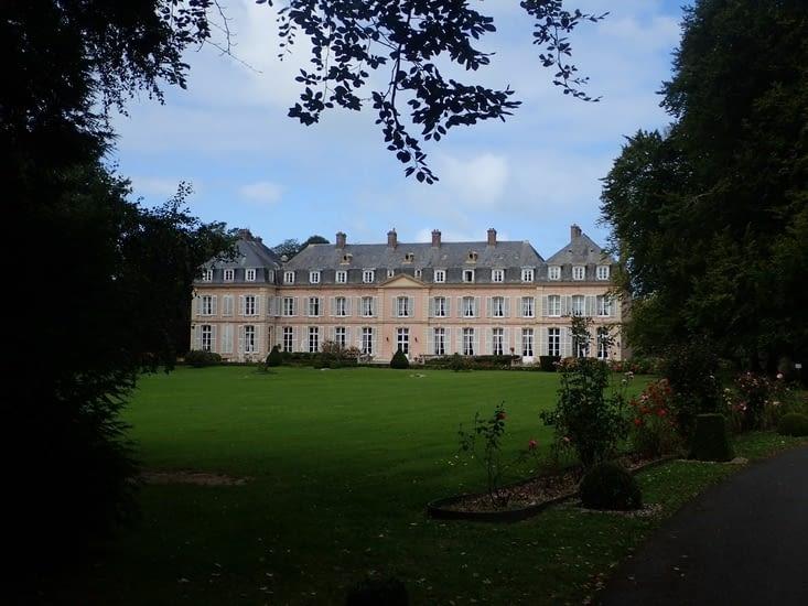 Le château de Sissi à Sassetot-le-Mauconduit.