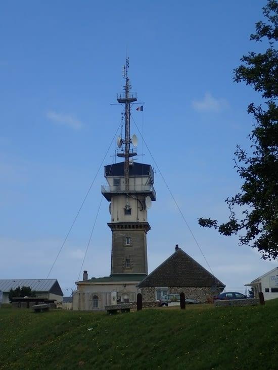 Le phare du cap Fagnet à Fécamp.