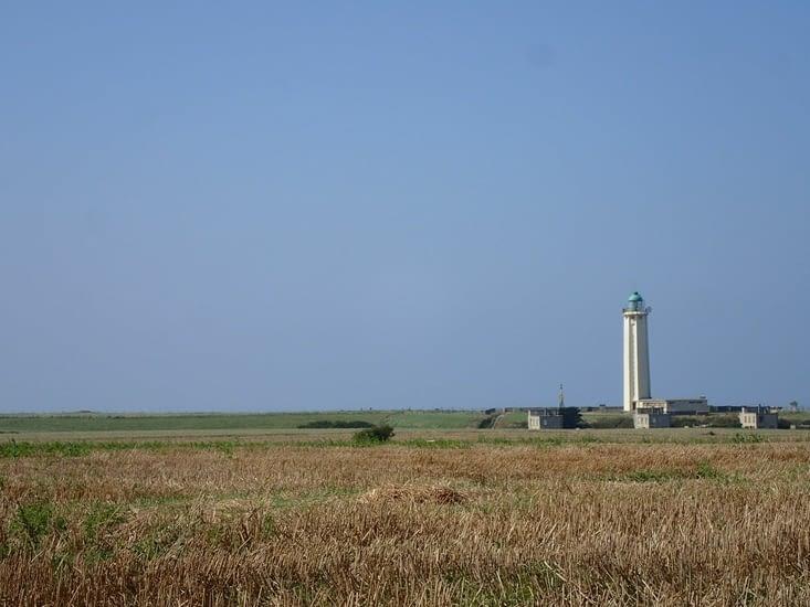 Le phare du Cap d'Antifer.