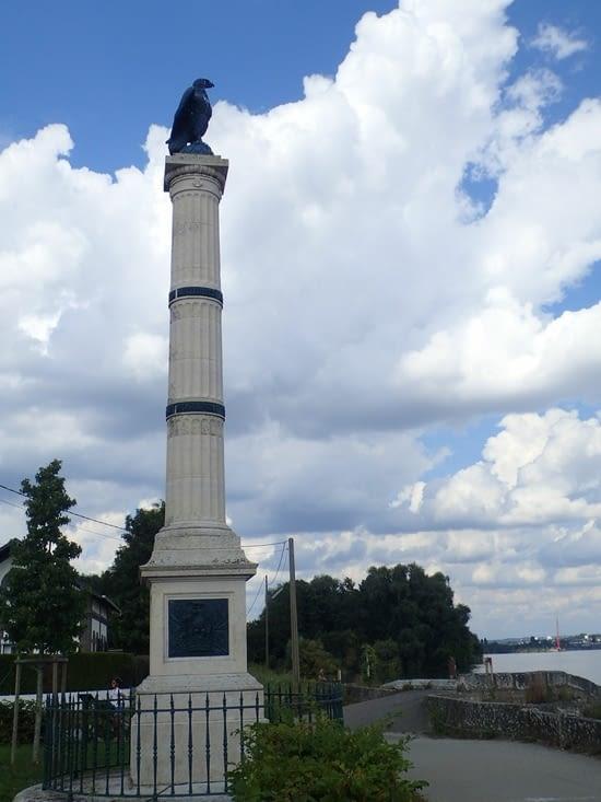 La colonne commémorant le retour des cendresde l'empereur.