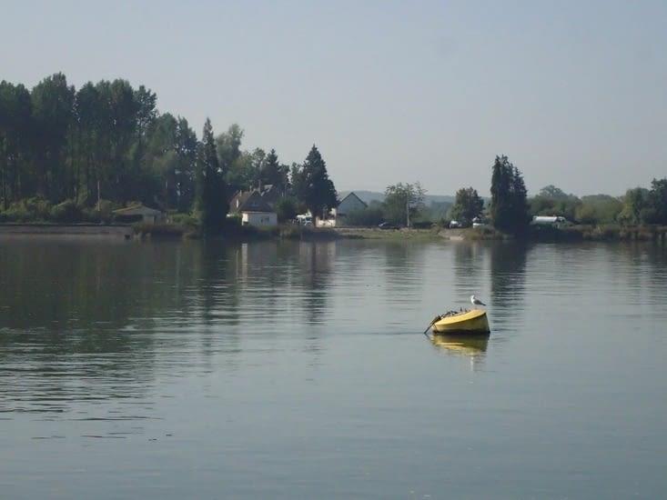 Ce matin à Rives-en-Seine.
