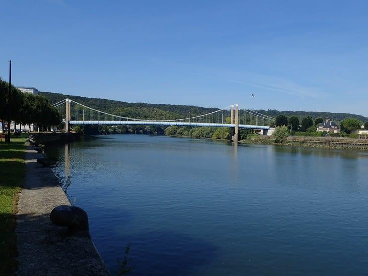 La Seine à Elbeuf.