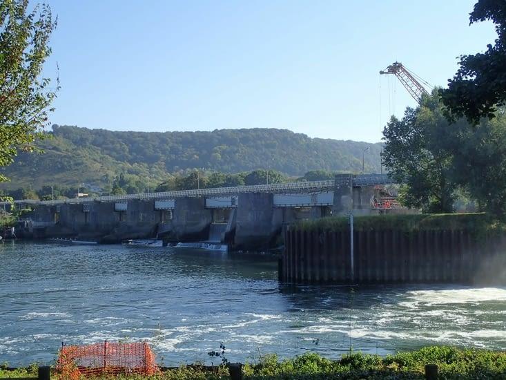 Barrage de Poses.