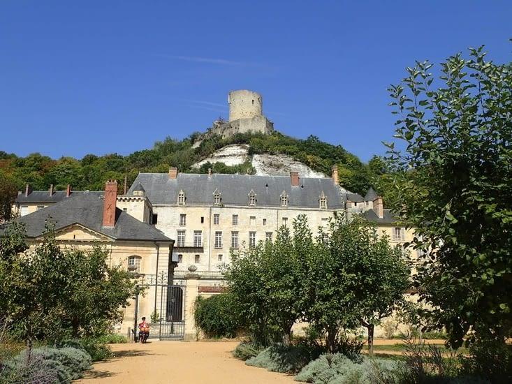 La Roche Guyon, le château.