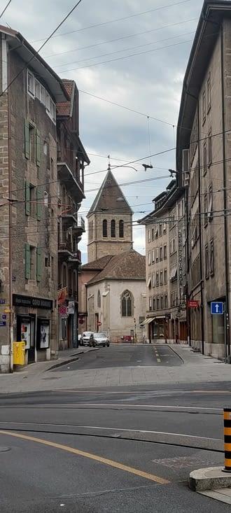 Cool, Genève un dimanche matin.... tranquille