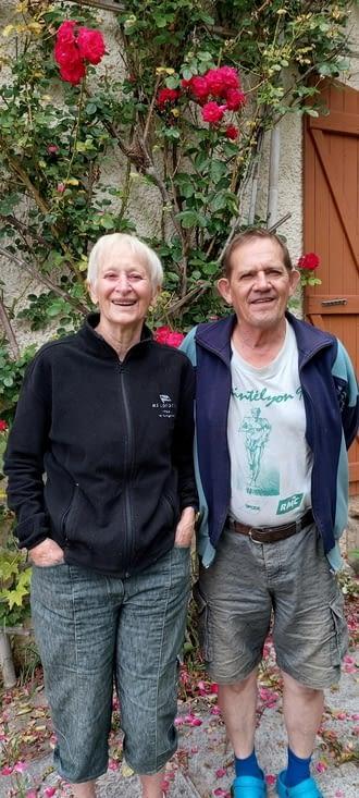 Merci Yolande et Jean-Michel pour votre accueil  fort sympa!