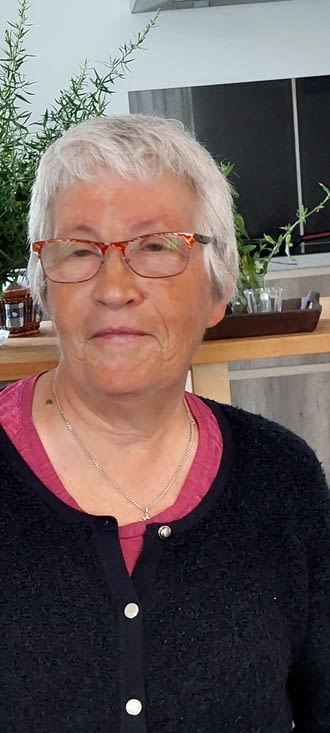 Monique, hospitalière au 'Foyer des apprentis ' de La Côte '