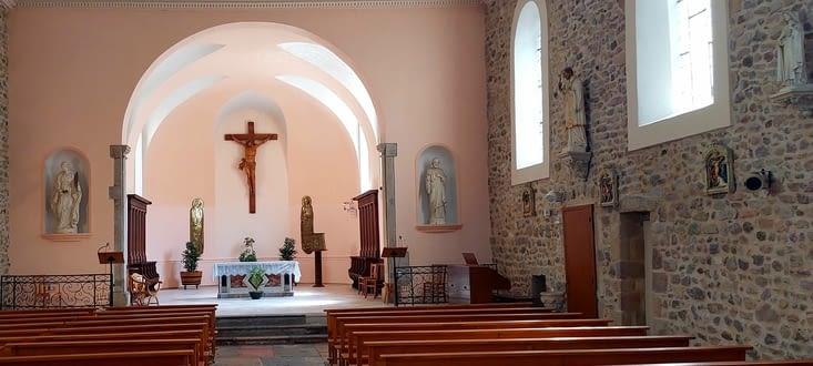 L'église de Chavanay
