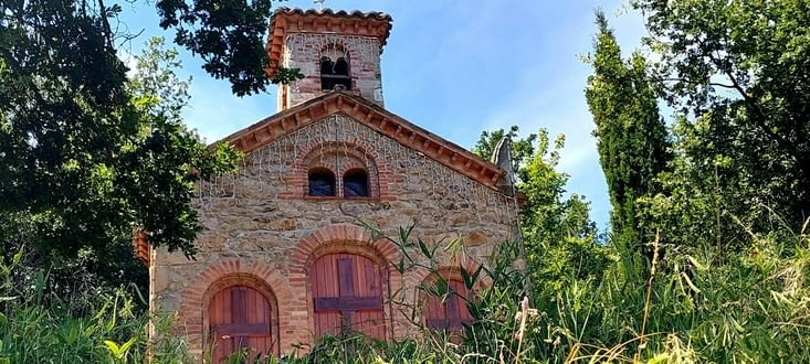 Une jolie chapelle toute simple, et bien rénovée