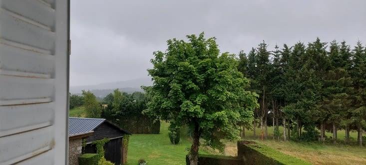 Bref, il a plu toute la journée, mes vêtements ont tenu le coup