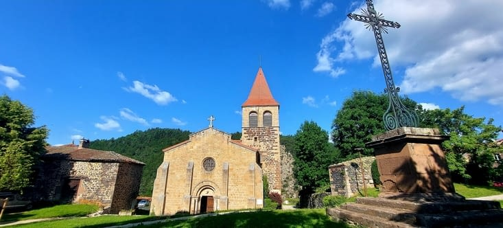 Une très belle église aussi