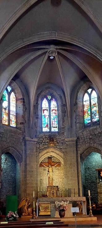 Petit tour à l'église,  très belle aussi,