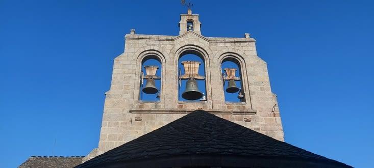 Le clocher au petit matin