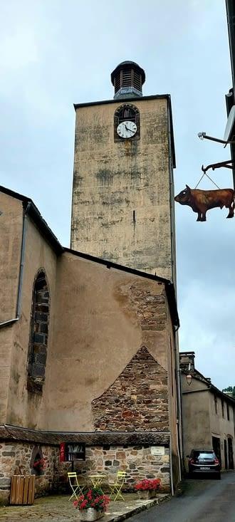 Arrivée à St-Chély-d'Aubrac