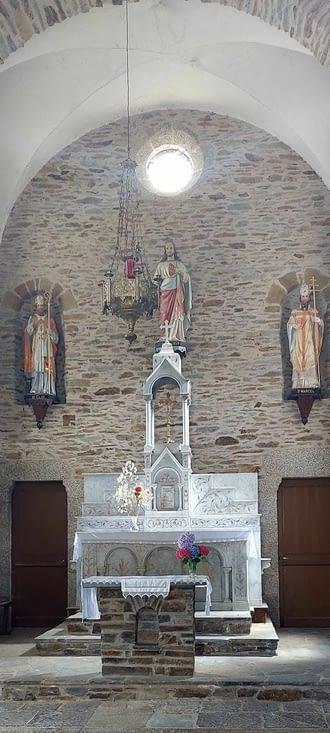 L'église de Senergues