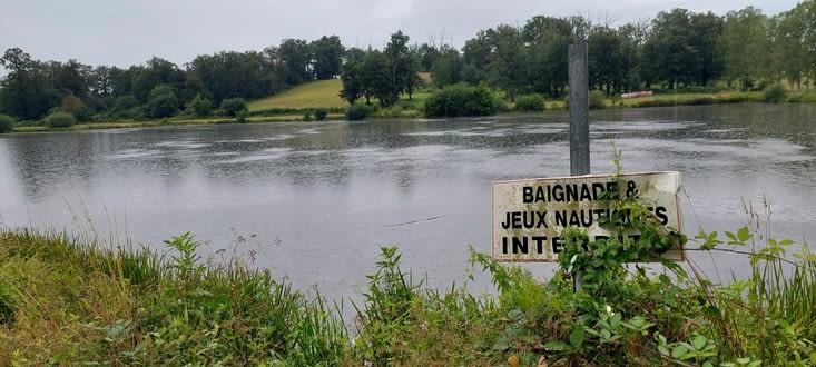 Le Lac de Guirande, mais on veut pas se mouiller quand même....